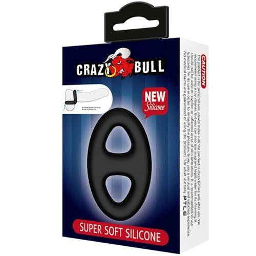 CRAZY BULL - ANILLO SILICONA DOBLE SUPER SUAVE