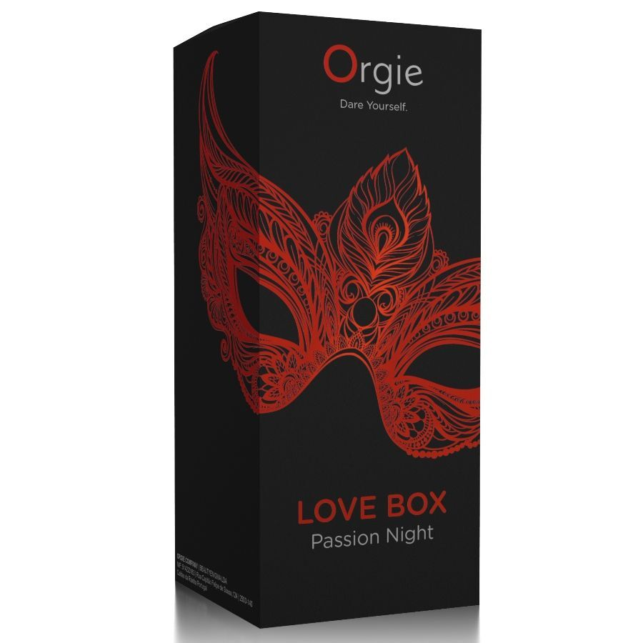 ORGIE LOVE BOX PASSION NIGHT ESTIMULADOR CLITORIS EFECTO CALOR KISSABLE